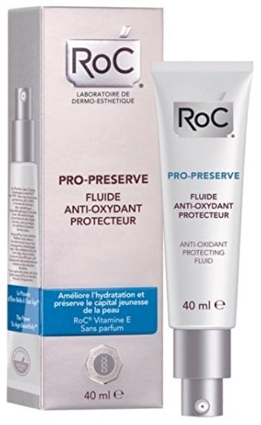 Roc Pro-Preserve Fluid Krem 40 Ml Renksiz